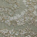 Textile fil métallo jointif dentelle lyon