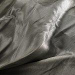 Textile fil métallo jointif chaine soie