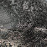 Textile fil métallo jointif écaille argent