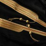 filés métallique abaya