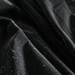 Textile fil retordu velour