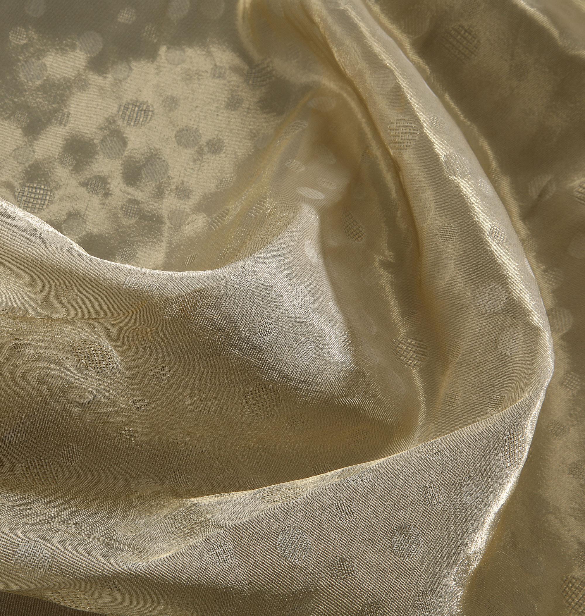 Textile fil guipé irrégulier jointif soierie pois
