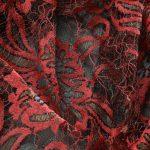 Textile fil retordu leaver rouge bleu